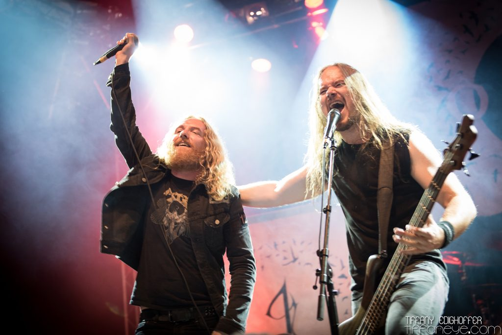 Insomnium and Stanne (Dark Tranquillity) (2016)